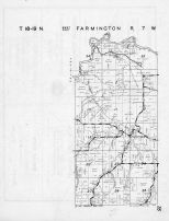 Farmington Township - West, Stevenstown, La Crosse County 1954